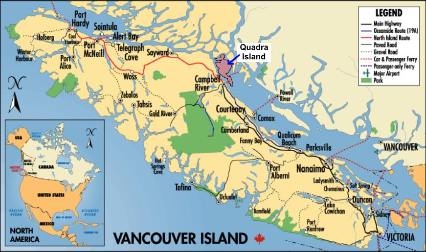Cities In Vancouver Island Bc