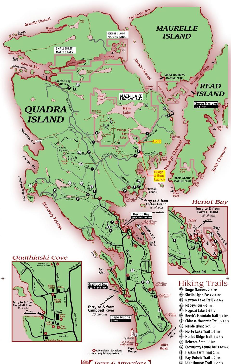 Quadra Island Map Quadra Island Map | compressportnederland Quadra Island Map